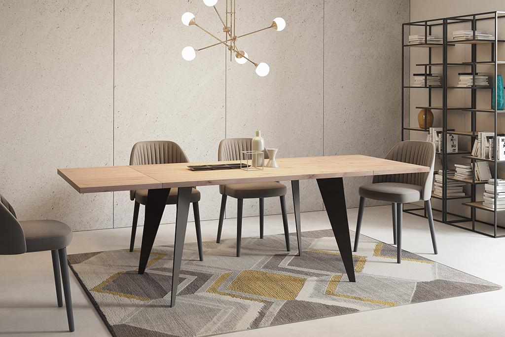 polskie stoły dębowe stoły industrialne