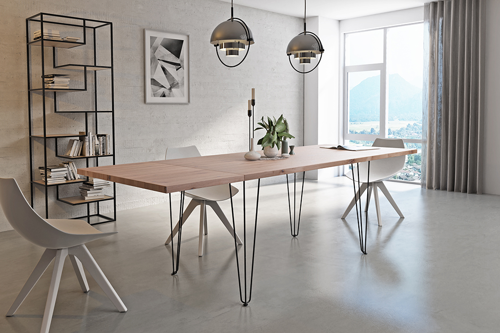 najlepsze stoły dębowe stoły industrialne