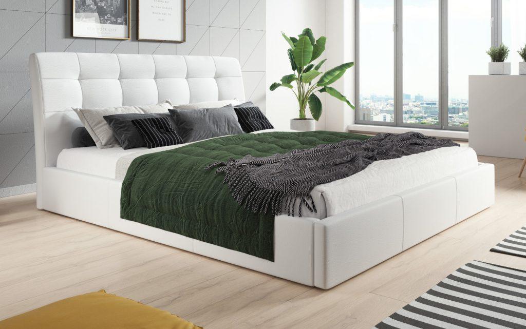 łóżko podnoszone łóżko kontynentalne  łóżko boxsprings łóżko do sypialni