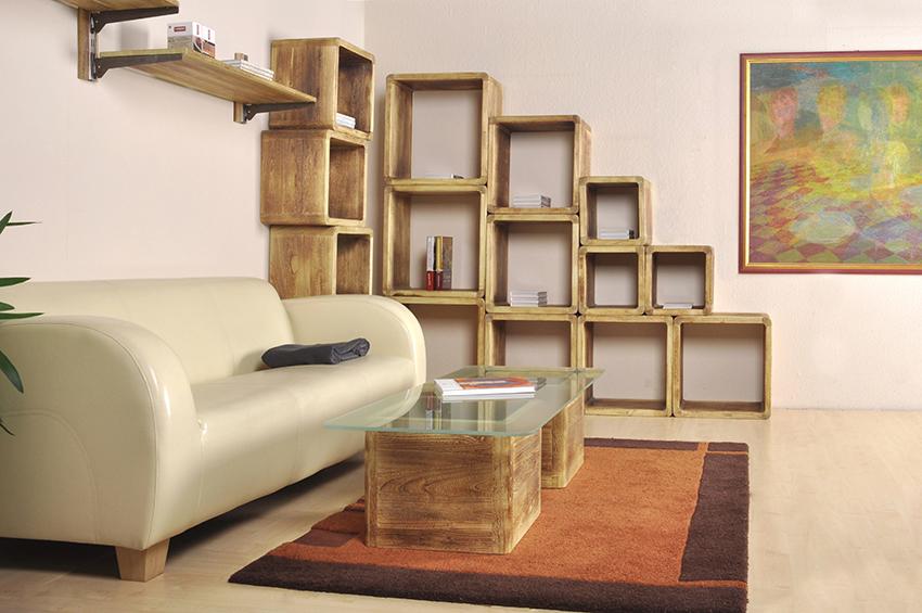 Feniks - komplet mebli z drewna paulownia