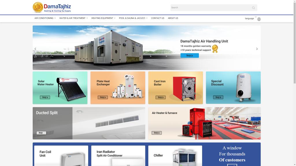 Unit Heater components